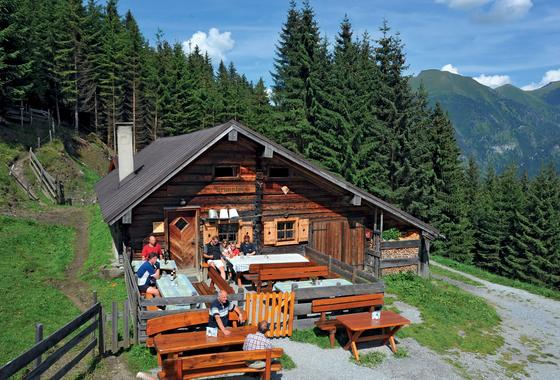 fundnerheimalm alpine hut