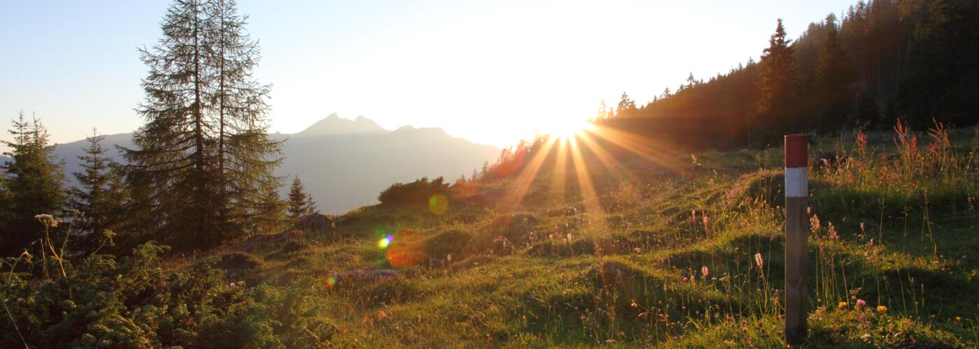 sunrise hike grossarltal valley | © TVB Großarltal