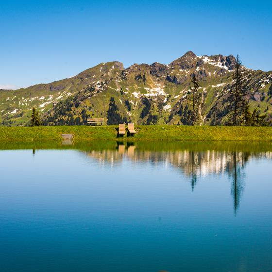 mountain paradise at the lake dorfgastein | © Tvb Gastein